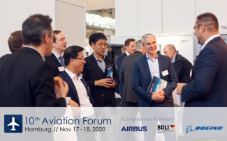 Logo Aviation Forum 10. Jahre